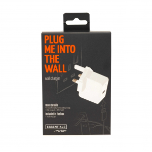 View more Essentials wall charger details