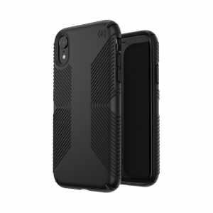 View more Speck Presidio Grip Case Cover for Apple iPhone XR Case - Black details