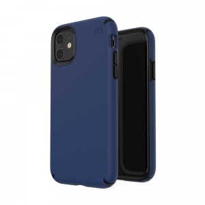 View more Speck Presidio Pro Phone Case Cover for Apple iPhone 11 Coastal Blue/Black details