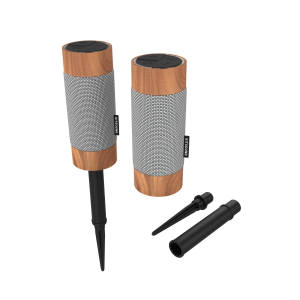 View more KitSound DIGGIT OUTDOOR BLUETOOTH SPEAKER TWIN PACK details