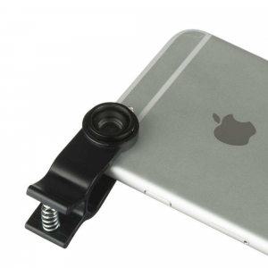 View more Kitvision 3in1 Clip Lens Set for Smartphones Macro, Fisheye, Wide-angle Lens details!!
