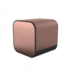 View more KitSound BOOMCUBE BLUETOOTH SPEAKER Rose Gold details