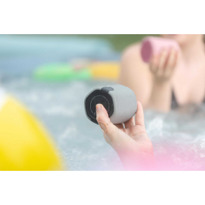 View more KitSound Hive2o Waterproof Bluetooth Speaker Grey details!!