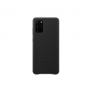 View Galaxy S20+ 5G Leather Cover - Black's details