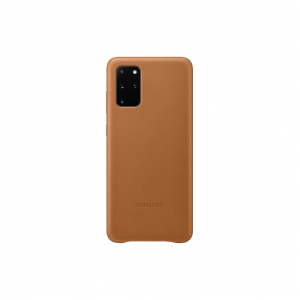 View Galaxy S20+ 5G Leather Cover - Brown's details