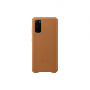 View Galaxy S20|S20 5G Leather Cover - Brown's details