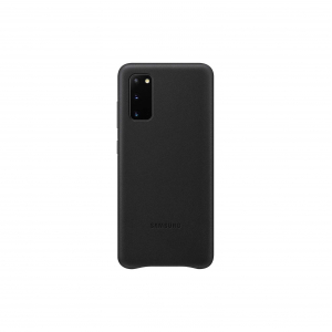 View Galaxy S20|S20 5G Leather Cover - Black's details
