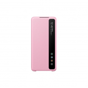 View Galaxy S20+ 5G Clear View Cover - Pink's details