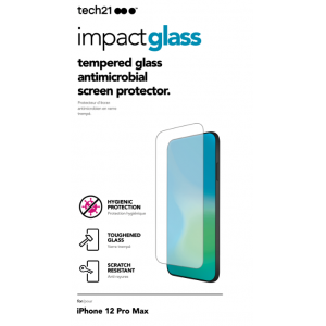 View Tech 21 Impact Glass iPhone 12 Pro Max's details