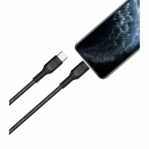 View more Fast 25W + Lightning to USB-C cable - UK Black details