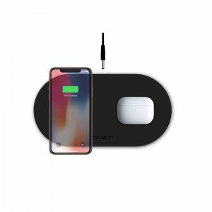 View more TwoFold 20W Dual Wireless Charger Black - EU/UK details