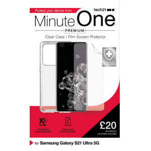 View more Minute One Premium Samsung S21 Ultra details